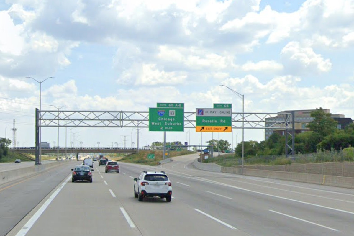 A man died in a crash June 28, 2020, on I-90 at Roselle Road.