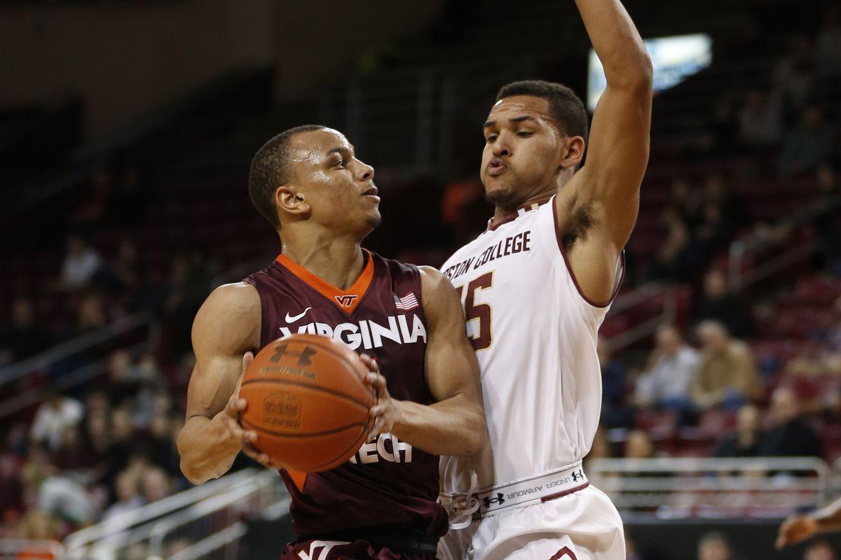 NCAA Basketball: Virginia Tech at Boston College