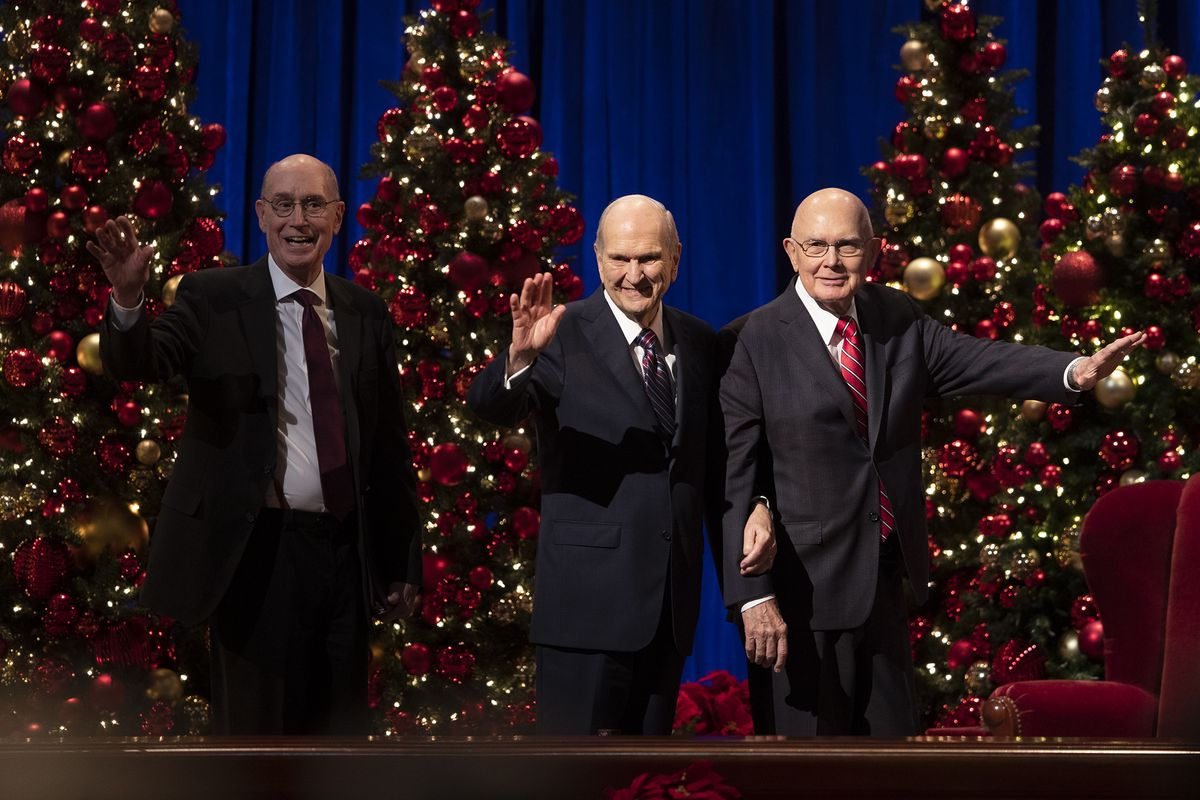Church Of Jesus Christ Of Latter-Day Saints 2020 Christmas Devotional Messages of peace offer a brief respite from a noisy world at