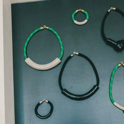 Orly Genger by Jacyln Mayer jewelry, $115 to $248