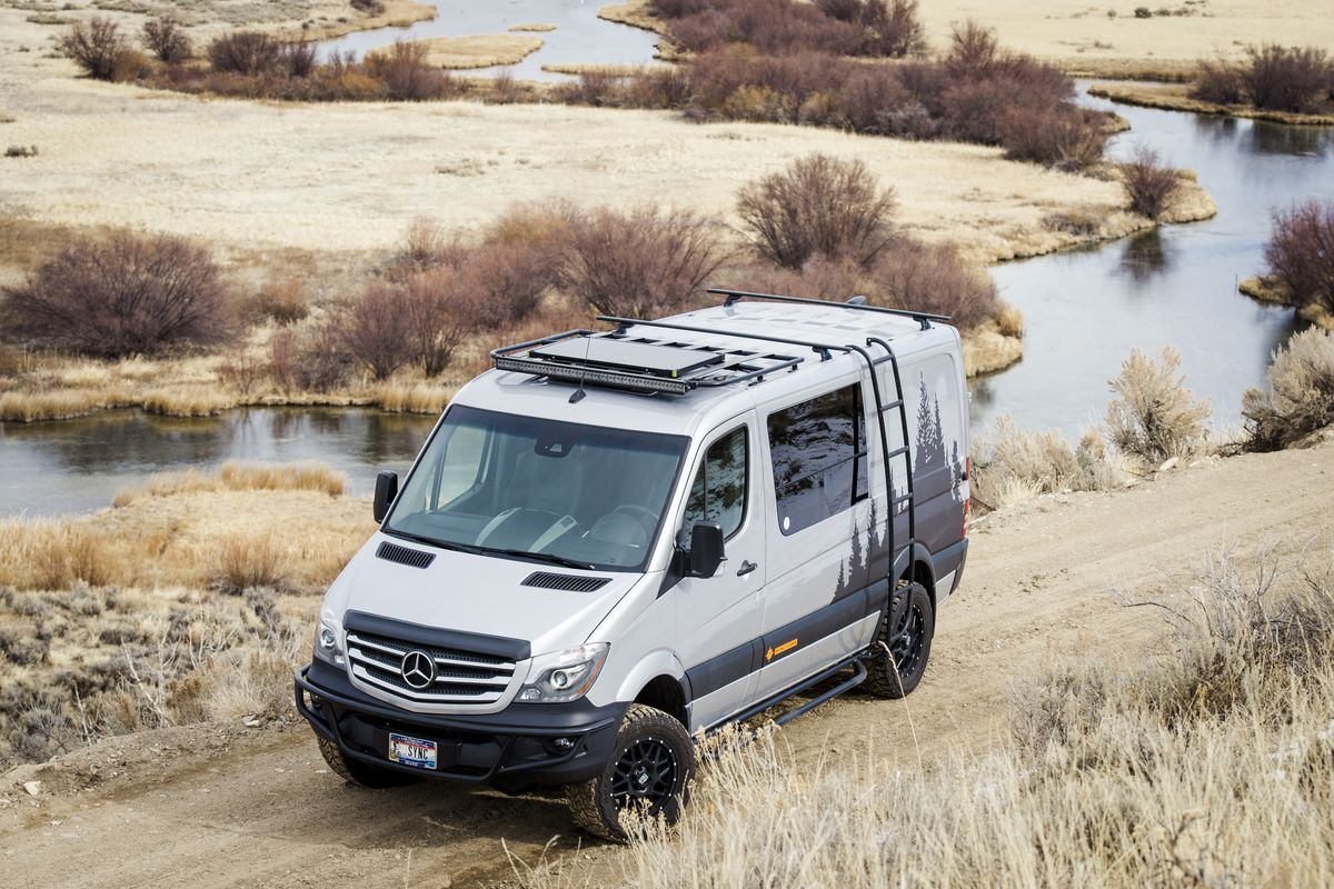 278d2bc590 Custom camper van merges sleek design with space for gear - Curbed
