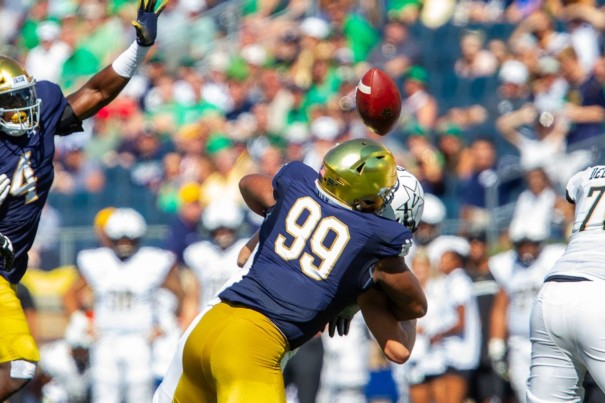 b96ebdd29 Notre Dame s Jerry Tillery considered best pass-rushing DT in the ...