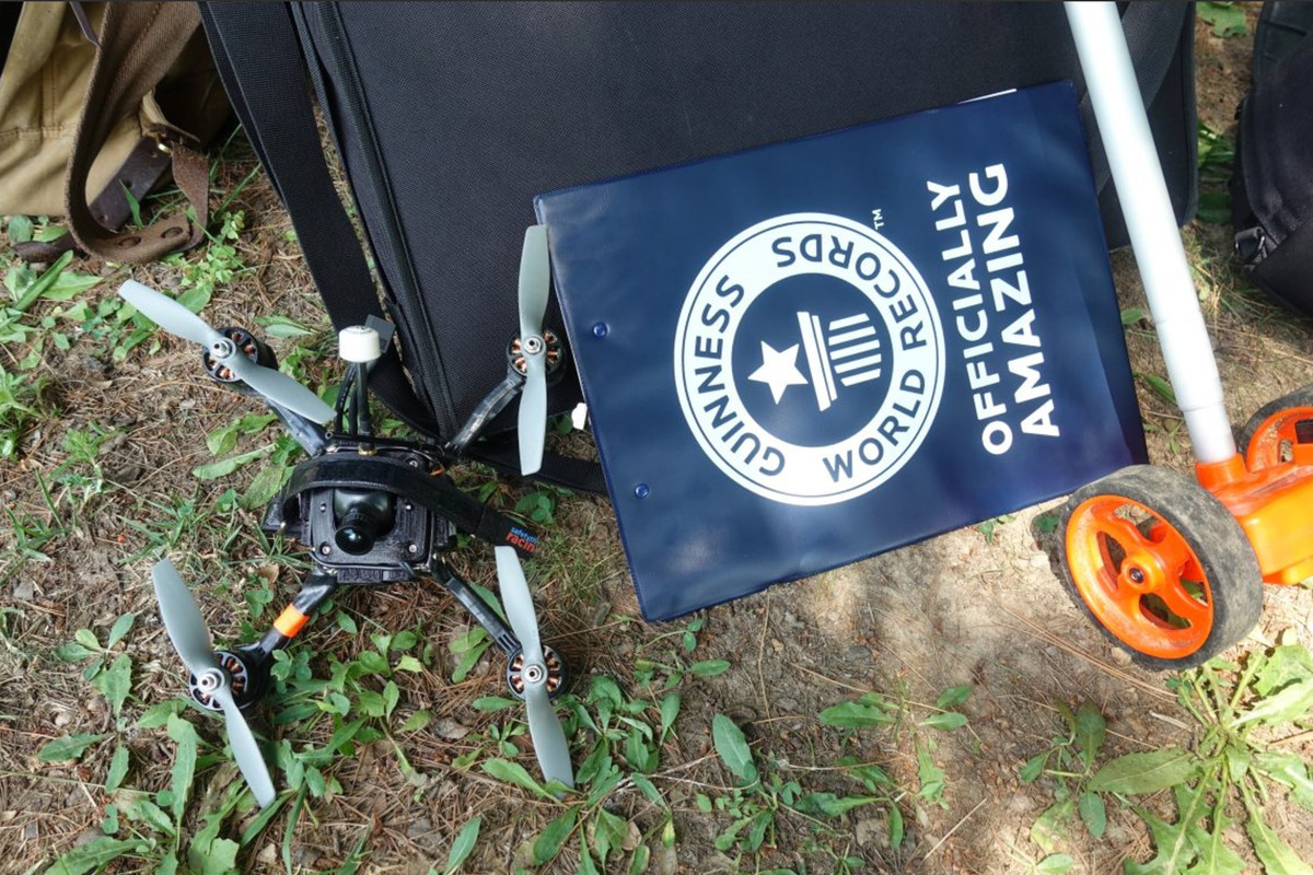 This Racing Drone Just Set a Guinness World Speed Record