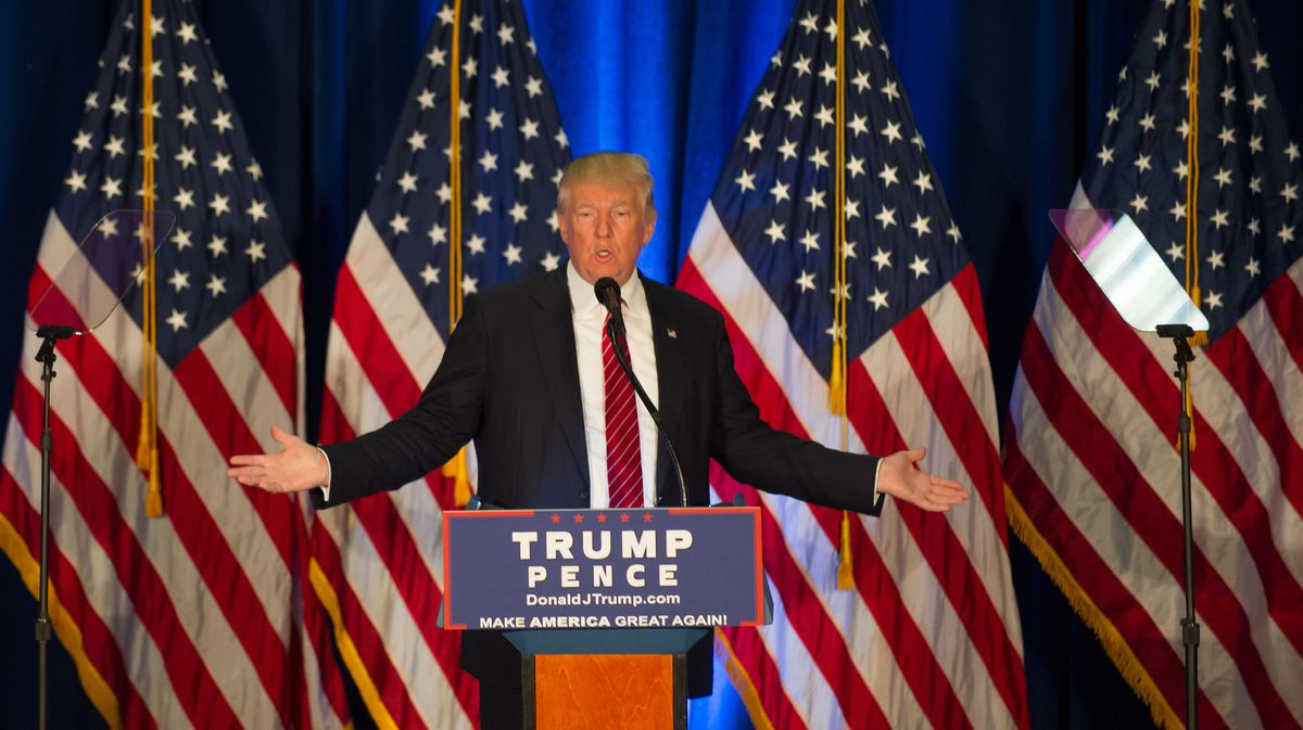Republican Presidential Nominee Donald Trump Campaigns In Youngstown, Ohio