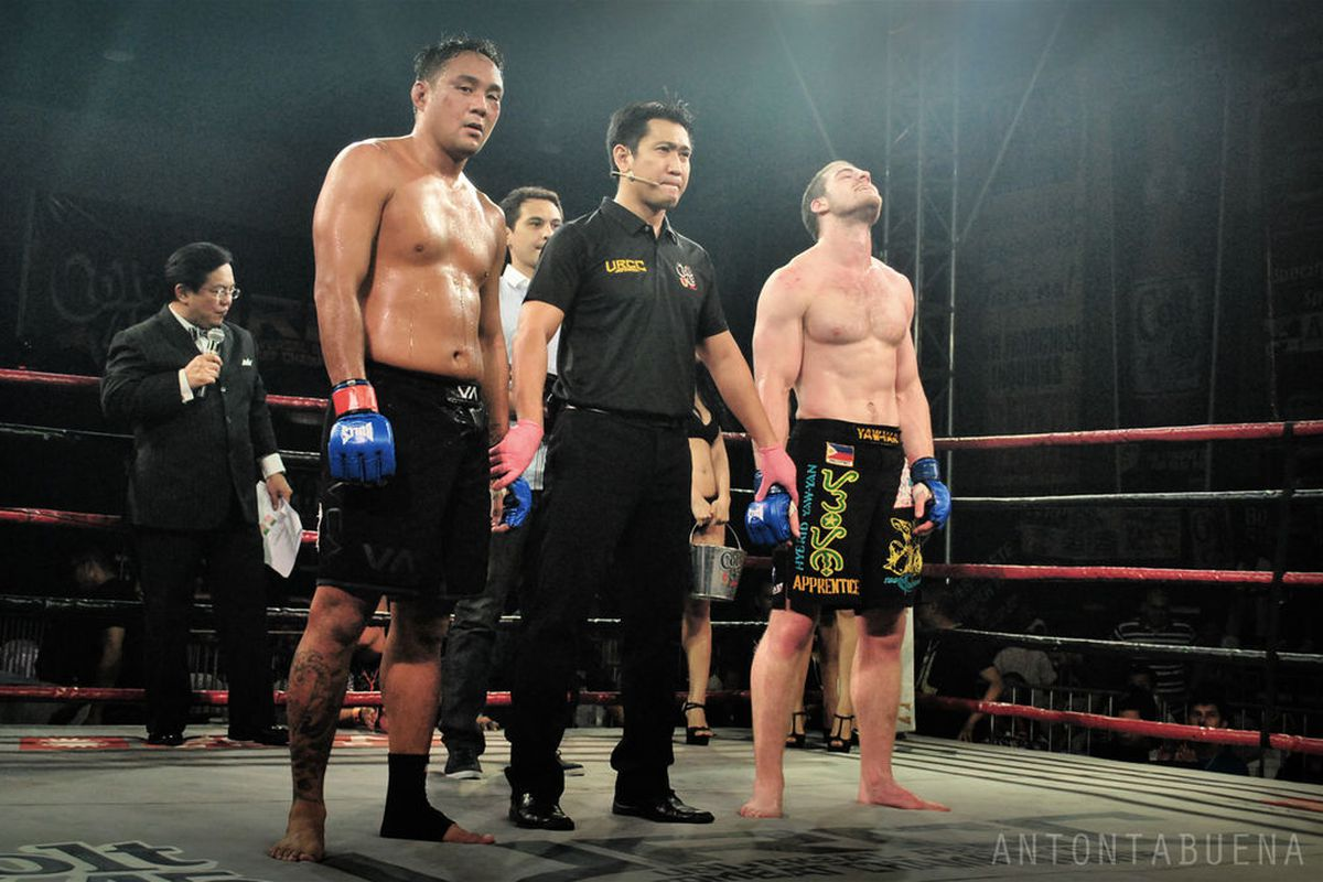 Former URCC Middleweight champ, Froilan Sarenas (left) will finally be dropping down to a more suitable weight class