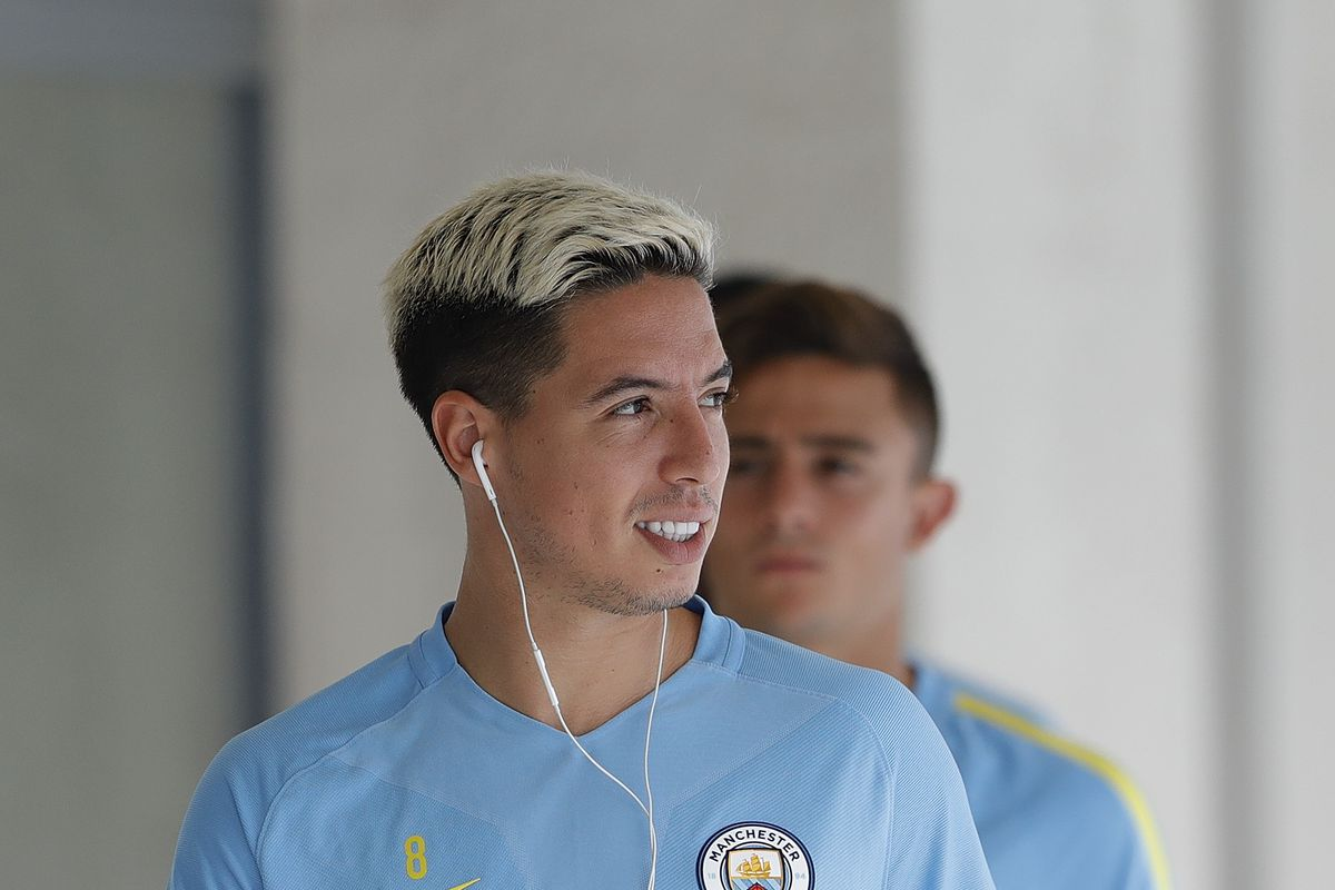 Manchester City Pre-game Training & Press Conference