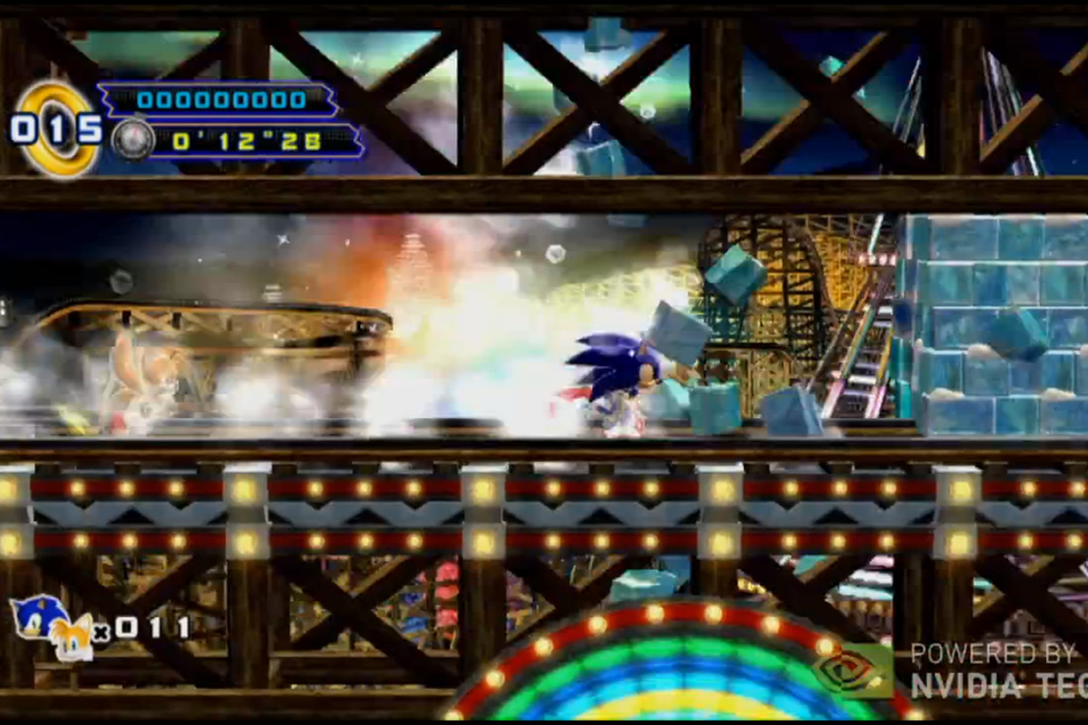 Nvidia shows off new Sonic, other games, for Tegra 3 Android devices
