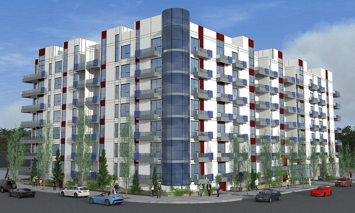 Rendering of 500 South Oxford Avenue project