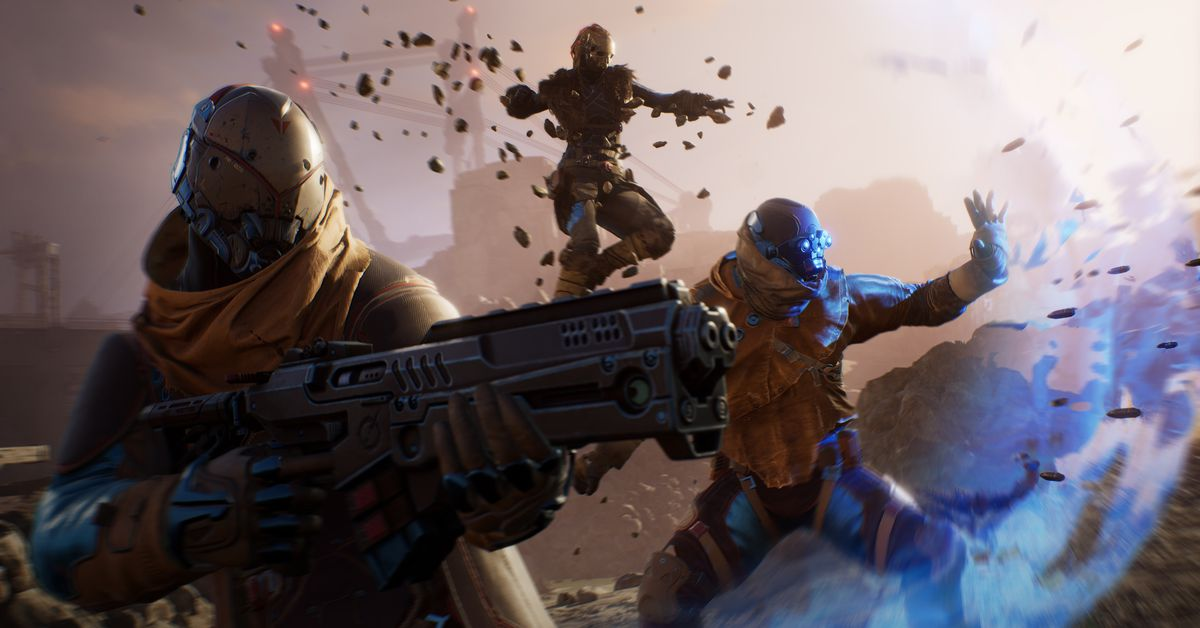 Outriders looks a lot like Destiny, and that's fine