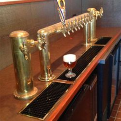 The chilled, 16-tap system by Micromatic.