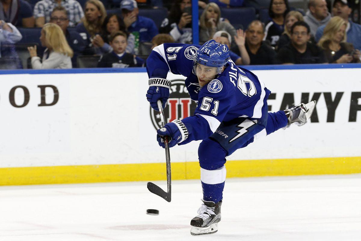NHL: Vancouver Canucks at Tampa Bay Lightning