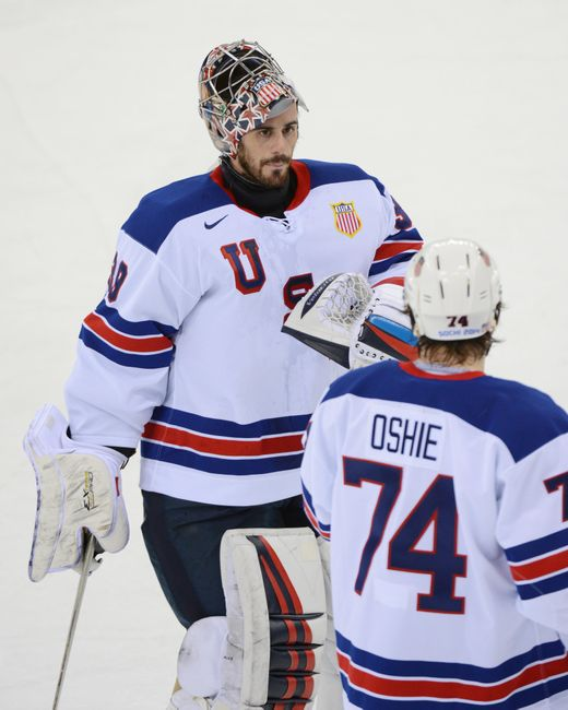 Ryan Miller was money in the 2010 Winter Olympics in Vancouver. (Photo Courtesy of Jayne