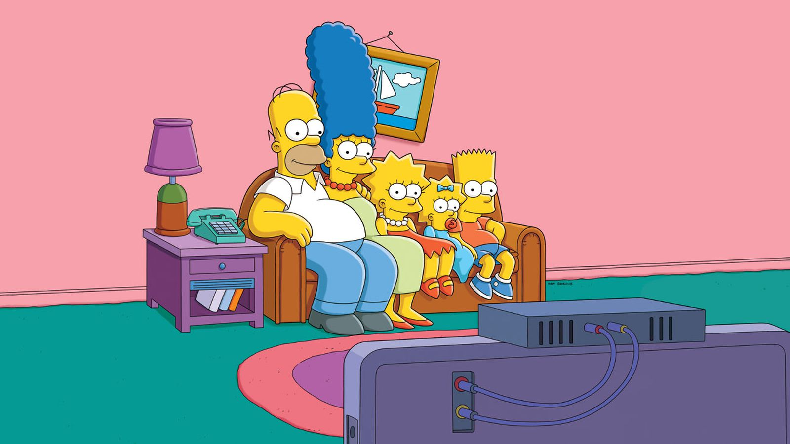 the effects of the popular american show the simpsons on kids