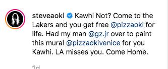 Kawhi Leonard Pizzaoki