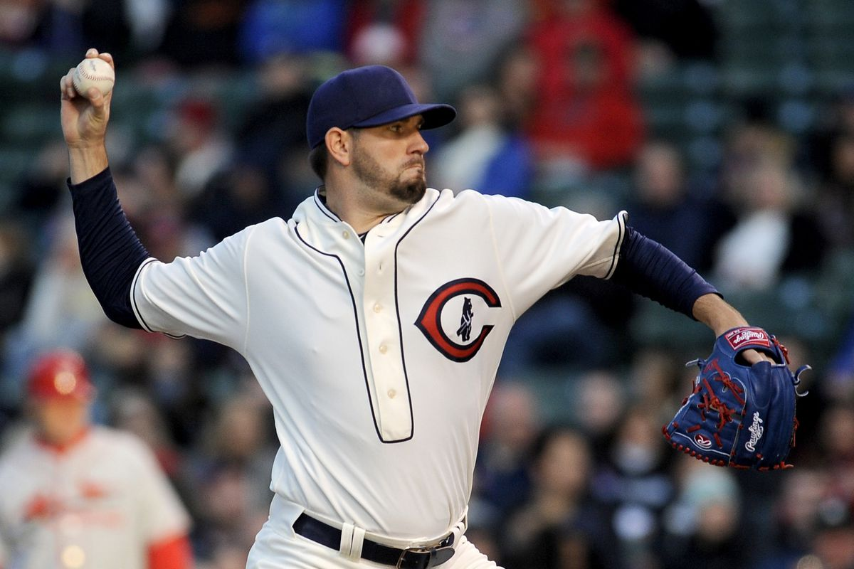 This is a better look for Jason Hammel than Oakland green, I think.