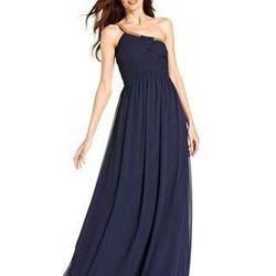 """<a href=""""https://www.stylelend.com/#!item/golden-lies-dress"""">Calvin Klein</a>, size 8, $45."""