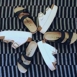 Tatami x Sacai sandals, $575 at Relish, Washington, D.C. (202) 333-5343