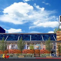 The restaurant hopes to revive the East Village section of Fremont Street.