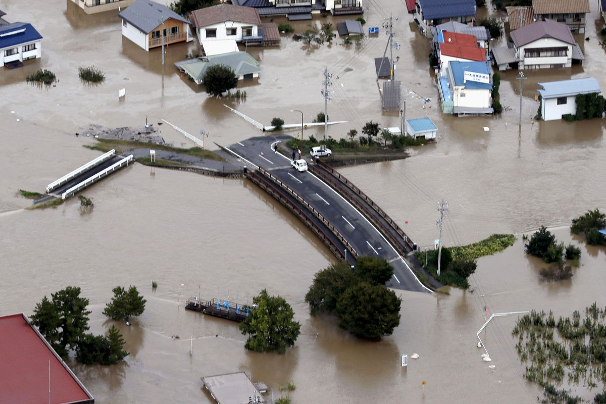 As many as 33 dead after Typhoon Hagibis makes landfall near Tokyo