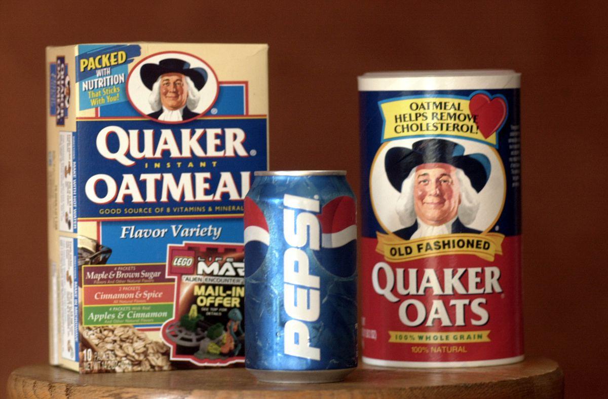 PepsiCo buys Quaker