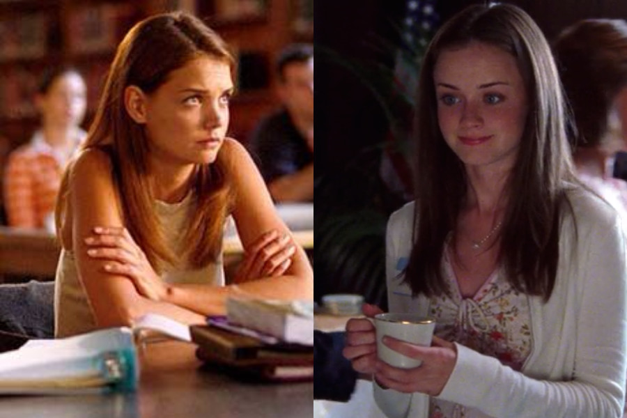 Joey Potter and Rory Gilmore