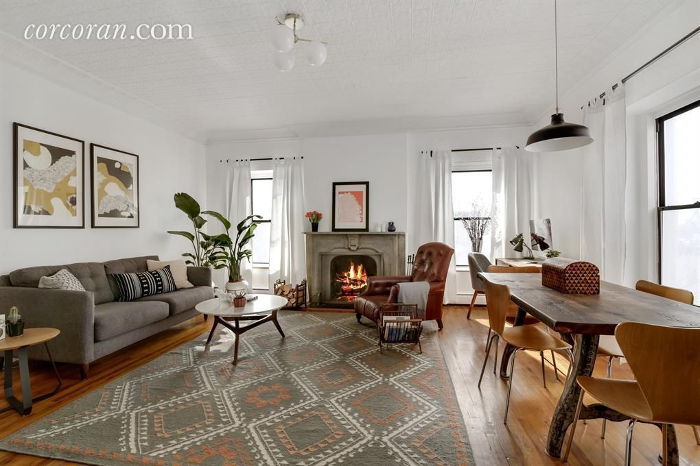 How Much For A Chic Park Slope Co Op With A Roof Deck Curbed Ny
