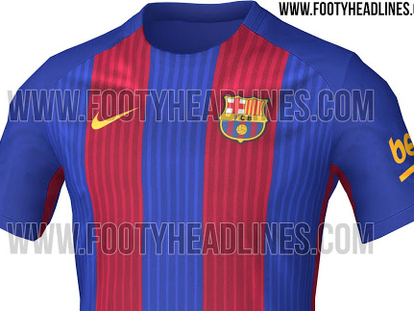 73ceab71c73 Barcelona 2016-17 home kit leaked ahead of official launch in two weeks -  Barca Blaugranes