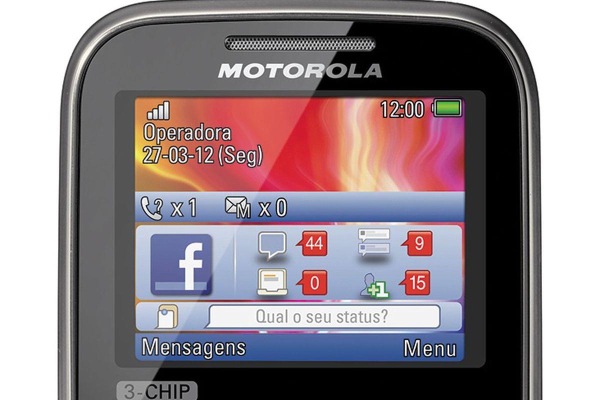 Motorola launching triple-SIM QWERTY handset in Brazil - The