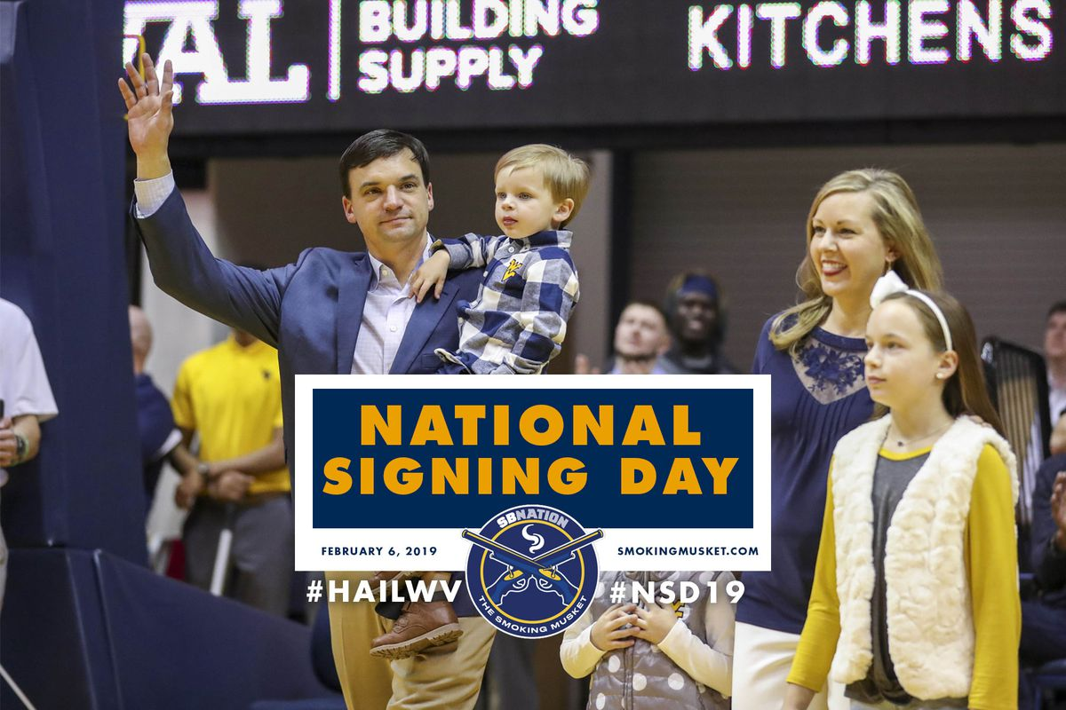 West Virginia Football Recruiting National Signing Day Real Time