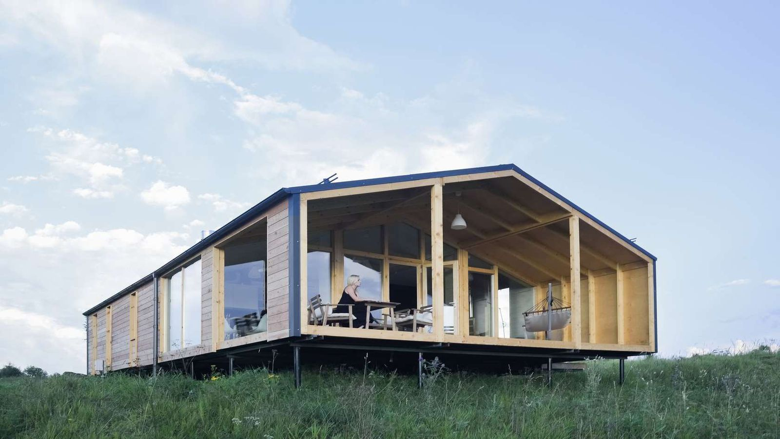 Affordable prefab cabin dubldom now accepting u s pre for Affordable contemporary homes