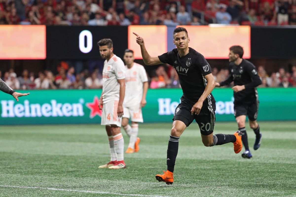 MLS: Sporting KC at Atlanta United FC