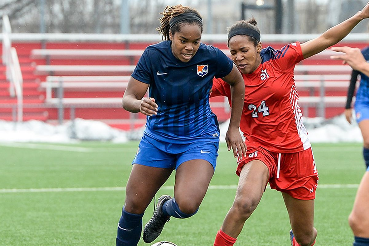 Rookie Kayla Mills will make her NWSL debut on Saturday night against Seattle