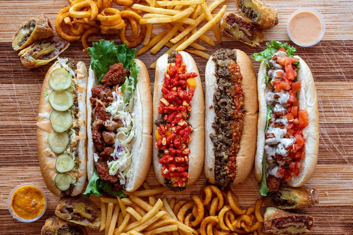 Cheesesteaks, hoagies, French fries and onion rings from Lefty's