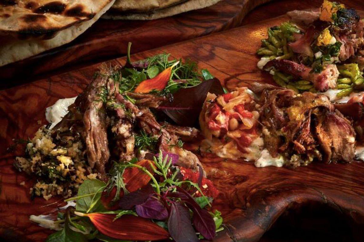 Platter from Kapnos Kouzina
