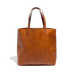 """<b>Madewell</b> Transport Tote in english saddle, <a href=""""http://www.madewell.com/madewell_category/BAGS/totes/PRDOVR~53228/53228.jsp"""">$168</a>"""