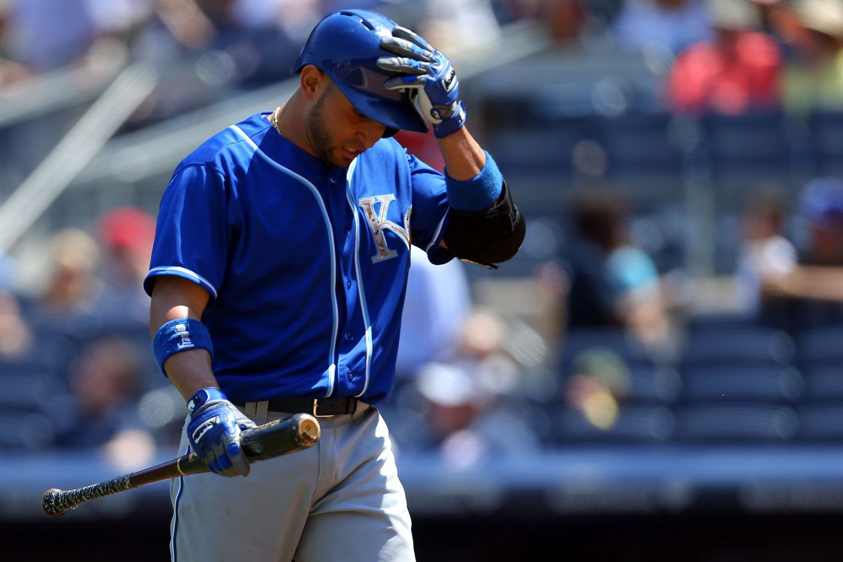 Omar Infante will probably pass Jose Altuve in the All-Star voting next week. He has -0.5 WAR on Fangraphs.