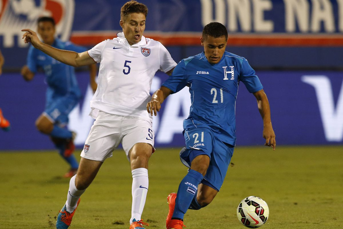 SKC Captain Matt Besler (#5) played 64 minutes in the draw with Honduras