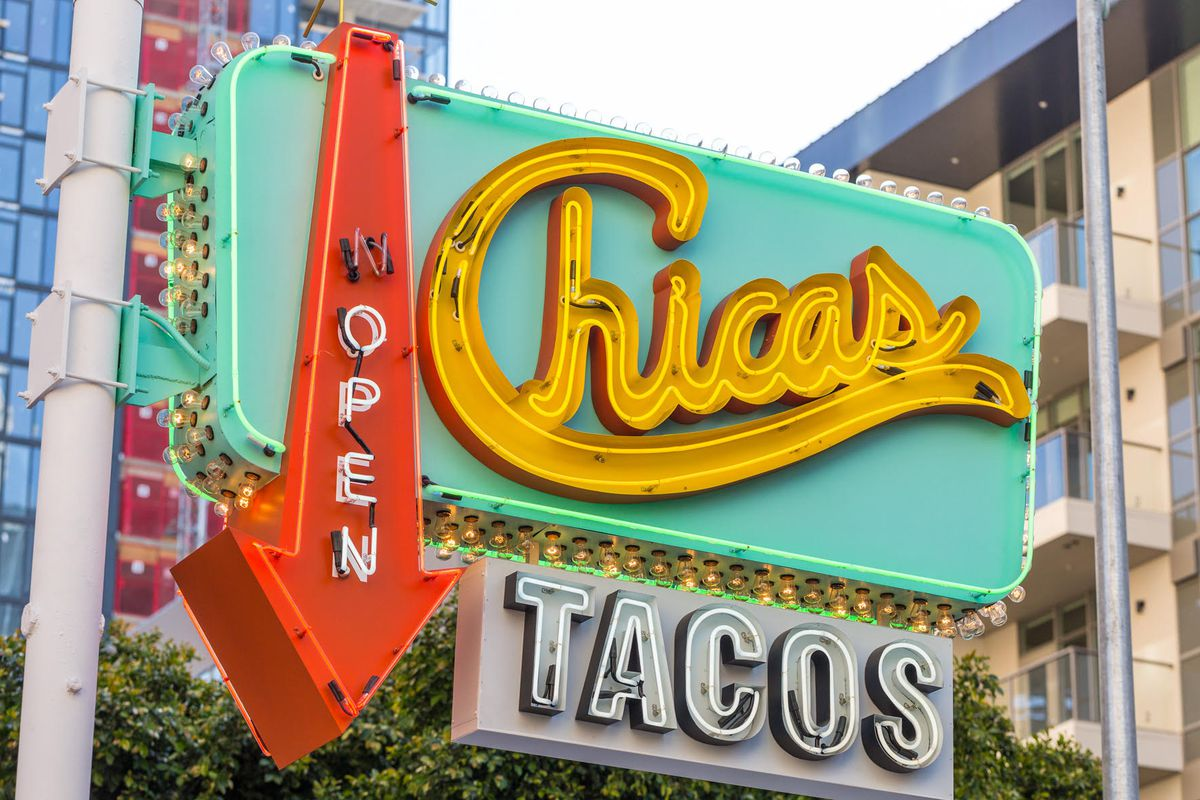 A Cheery New Taco Shack Just Opened In Downtown Los Angeles Eater LA - Los angeles postal code