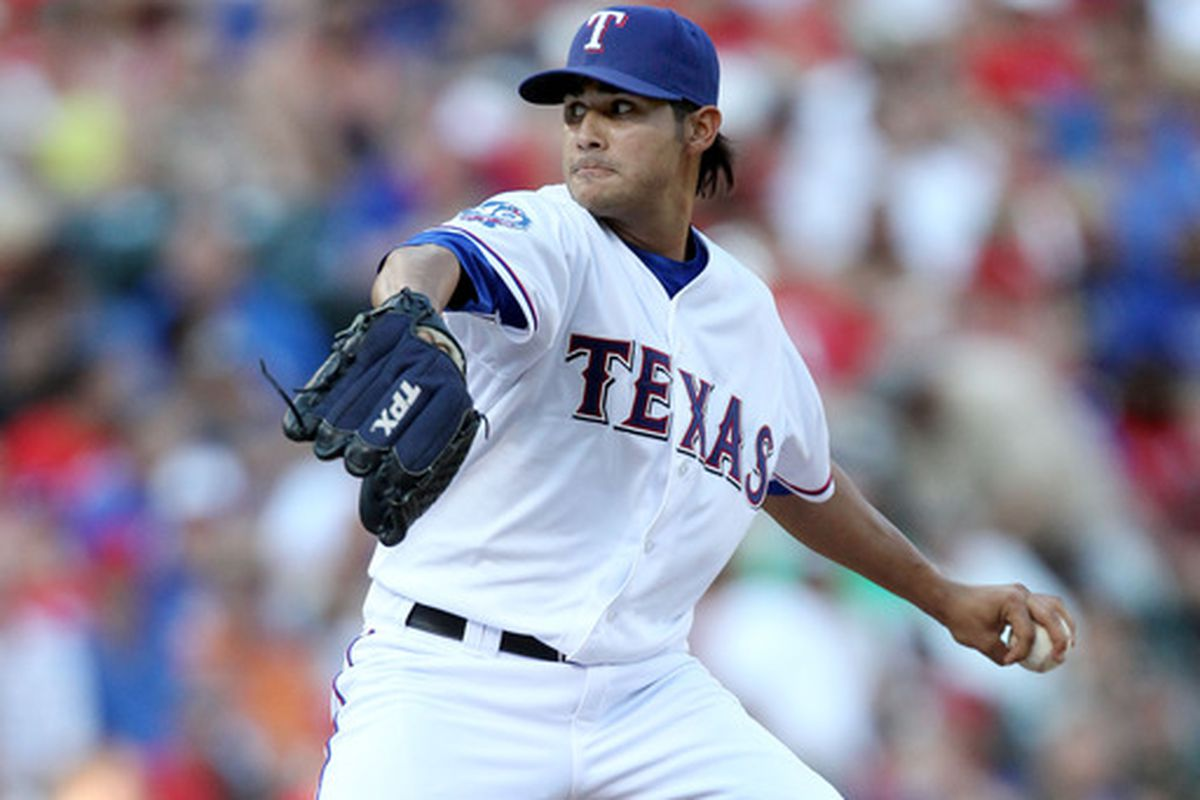 Martin Perez will start tomorrow against the Cardinals.