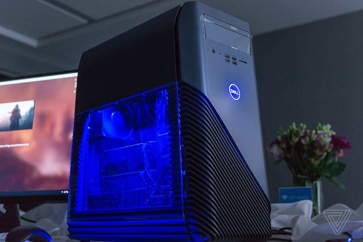 dell is trying to offer more affordable ways into pc gaming than its high end alienware line its latest attempt is the inspiron gaming desktop