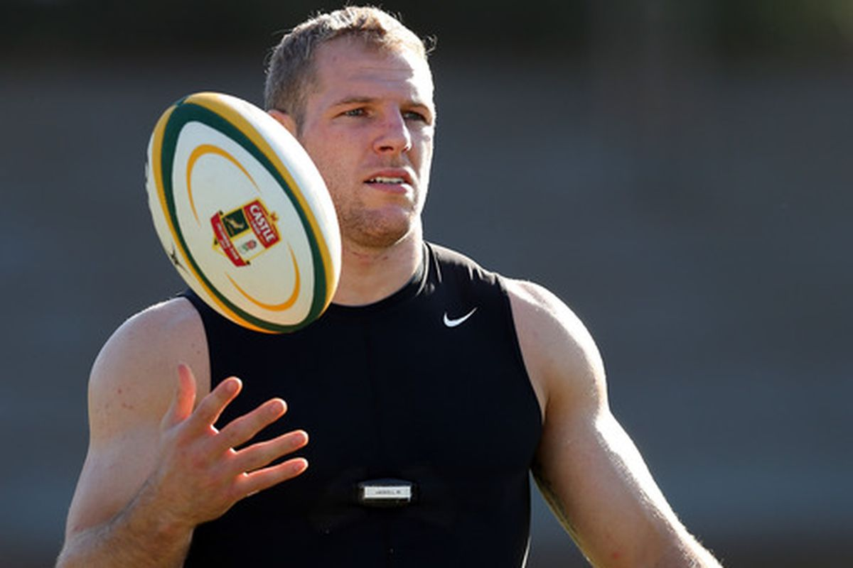 Rugby player James Haskell is a gay ally