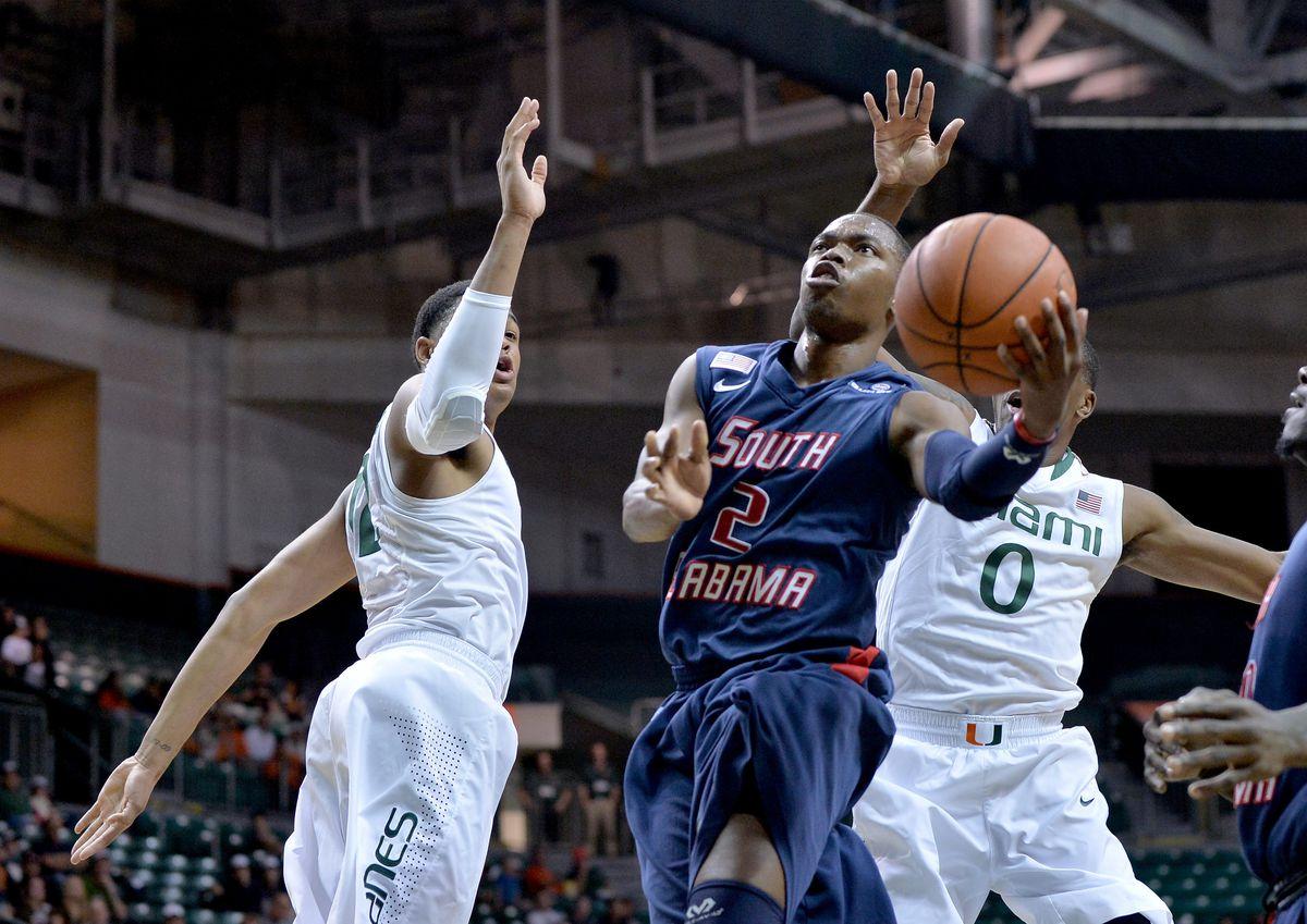NCAA Basketball: South Alabama at Miami