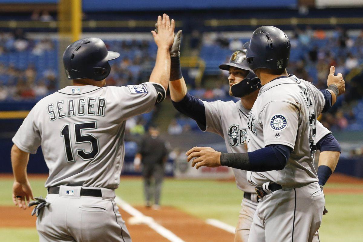 MLB: Seattle Mariners at Tampa Bay Rays