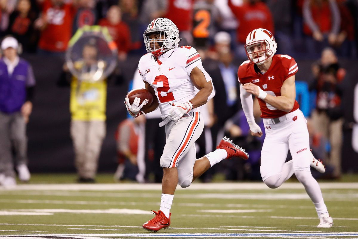 J K Dobbins Ohio State S Defense Proved To Be Too Much For