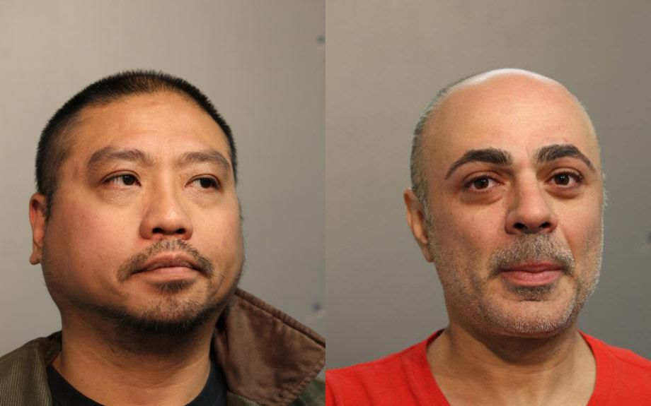 Reggie Catayong (left) and Jack Artinian | Chicago Police