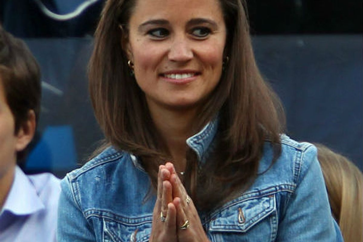 We are just as excited as you are, Pippa. Image via Getty