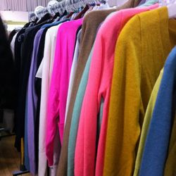Technicolor knits