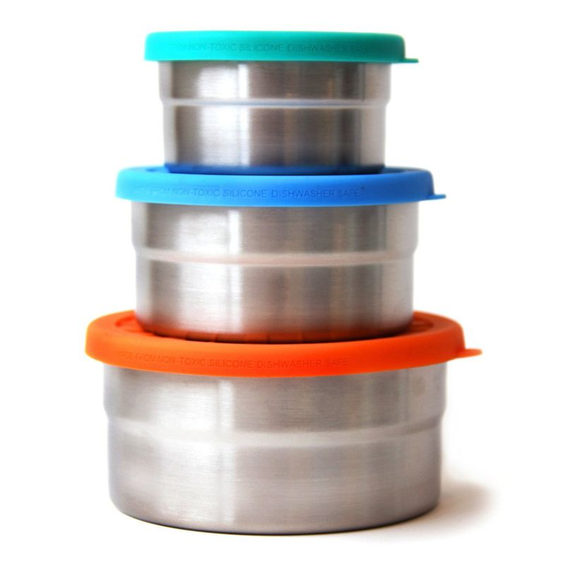<p>No need for the camping utility provided by the ECO Adventure Kit? Prefer soupy or saucy lunches? Opt for these leak-proof containers instead.</p>