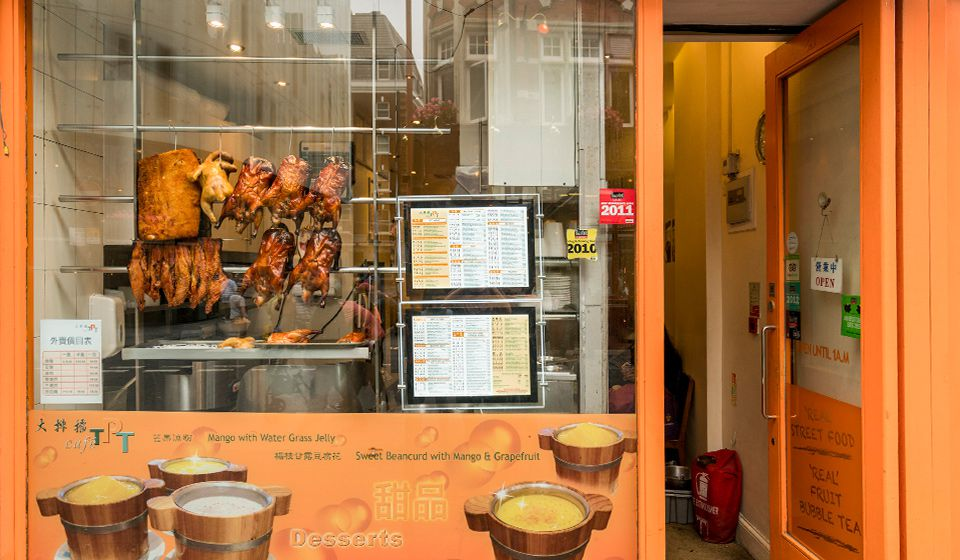 Cafe TPT, one of the best restaurants in Chinatown London