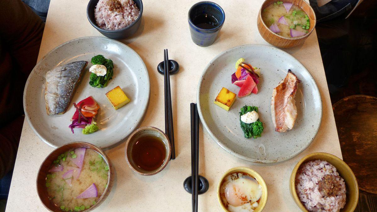 Okonomi breakfast.